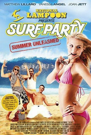 Poster Of English Movie National Lampoon Presents Surf Party (2013) Free Download Full New Hollywood Movie Watch Online At Alldownloads4u.Com