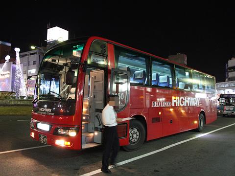 ジェイアール九州バス「福岡周南ライナー」 8450 徳山駅前改札中