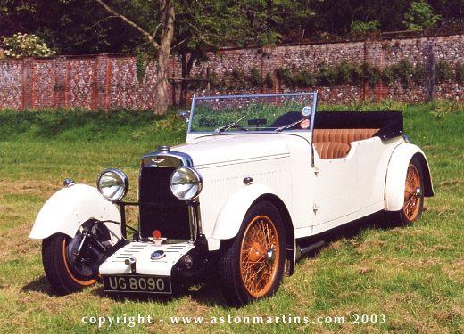 Aston Martin Standart, 1932 г.