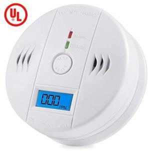 Carbon Monoxide Gas Detection,CO Detector Alarm LCD Portable Security...