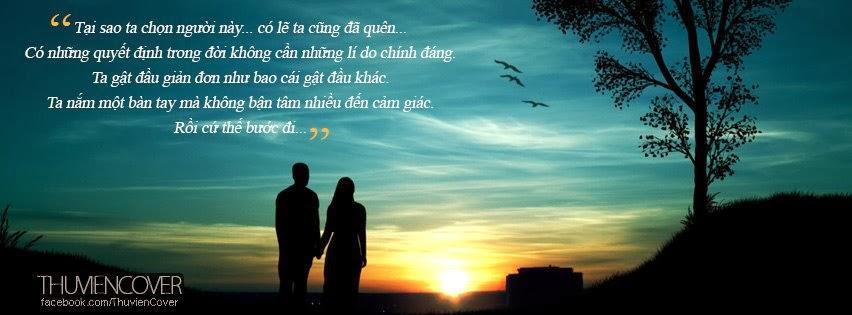 Ảnh đôi tình nhân nắm tay nhau đi về cuối chân trời.