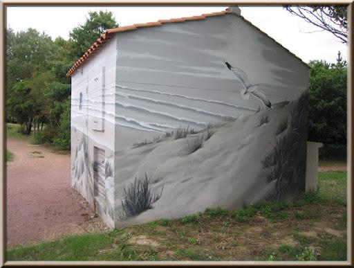 Peinture de rue transfo 2