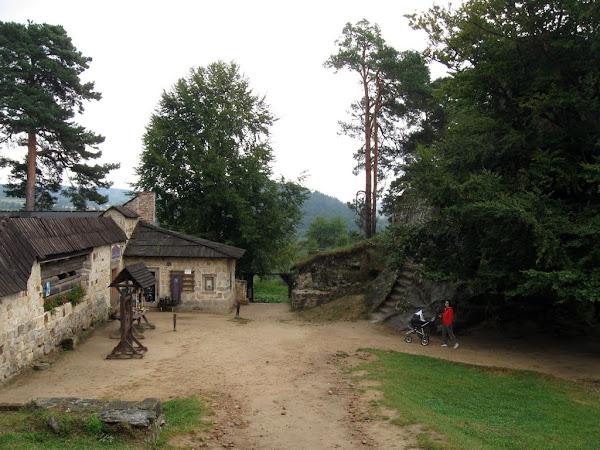 zamek kamieniec dziedziniec