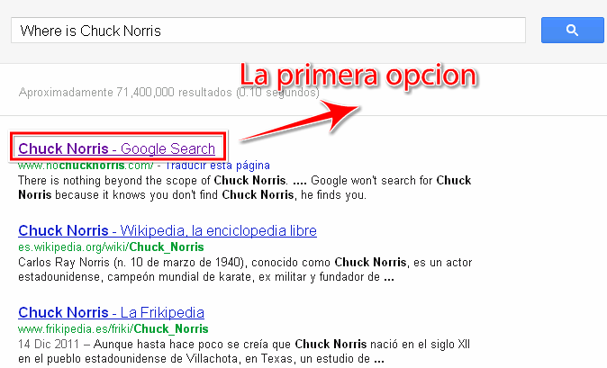 Where is Chuck Norris