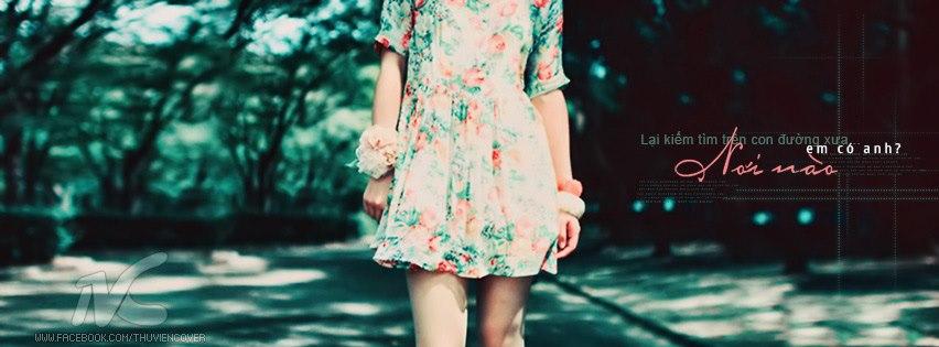 ảnh bìa cô gái cô đơn đi trên con đường vắng