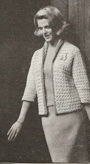 Bulky Crochet Bi-Color Jacket Pattern