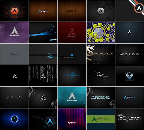 30 sfondi per Arch Linux