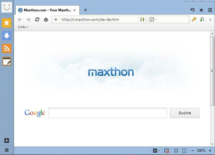 Screenshot of Maxthon Cloud Browser v.4.1.0.4000 PC Software Free Download at Alldownloads4u.Com
