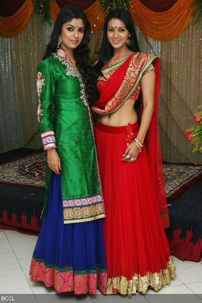 TV actresses Sayantani and Barkha attend the wedding ceremony of Resshmi Ghosh and Siddharth Vasudev.