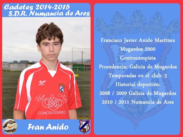 ADR Numancia de Ares. FRAN