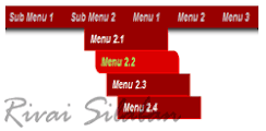 cara membuat menu navigasi diblog