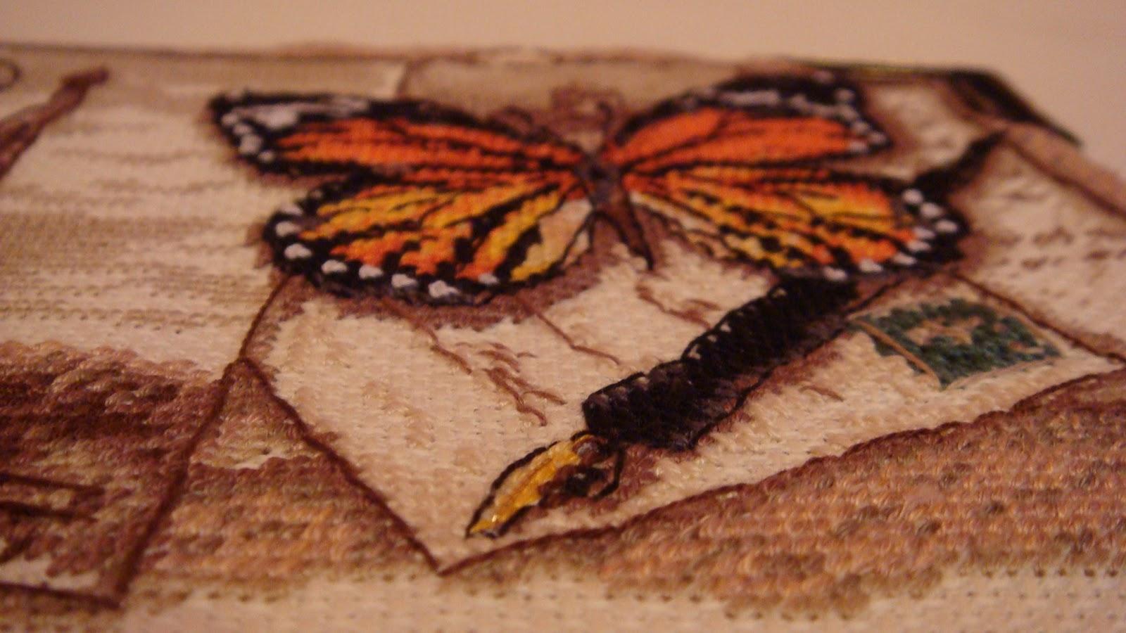 париж и бабочка схема