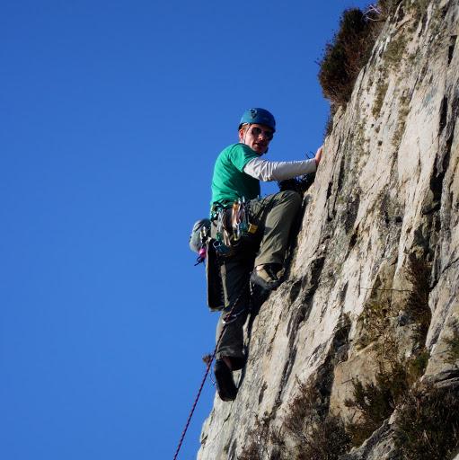 Beautiful day rock climbing in Co. Sligo