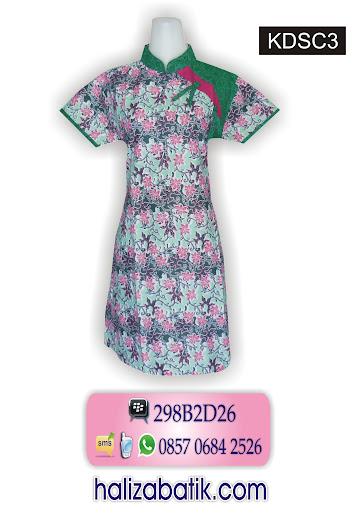 koleksi baju batik terbaru, baju dress batik, model baju batik