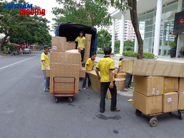 Thuê xe tải Vietnam Moving