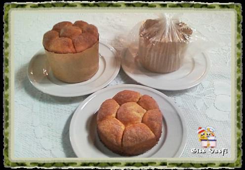 Pão bolha ou colmeia