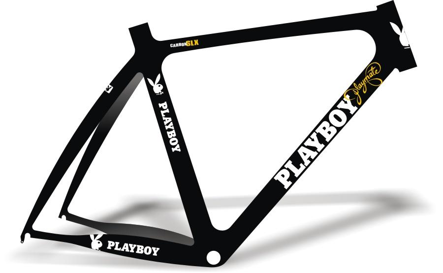 Armario Capsula Masculino ~ Stickers Design Adesivo Bike Playboy Playmate SLX