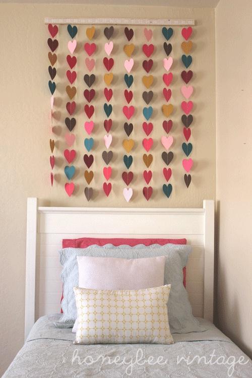 mobile decorativo de coração