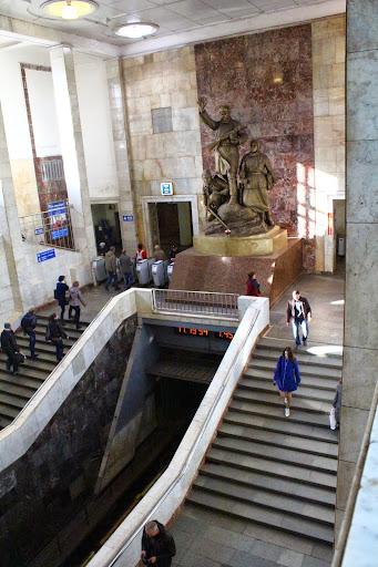 Partizanskaya metro station