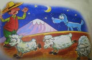 El pastor y su ganado
