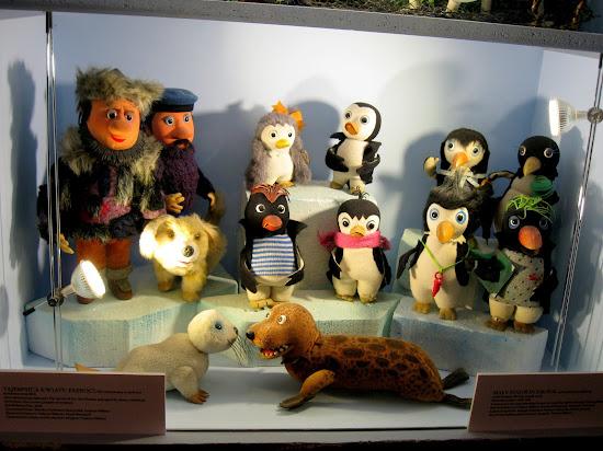 pingwin pik pok w muzeum bajki semafor w łodzi