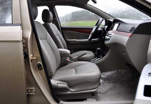 Lifan 620 Talent - interior