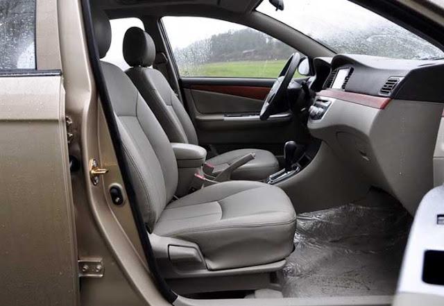 Lifan 620 Talent - interior