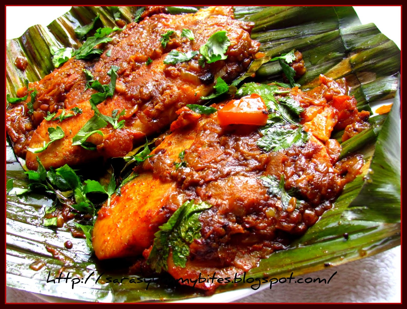 Meen pollichathu fish fry in plantain leaf wrap for What goes good with fried fish