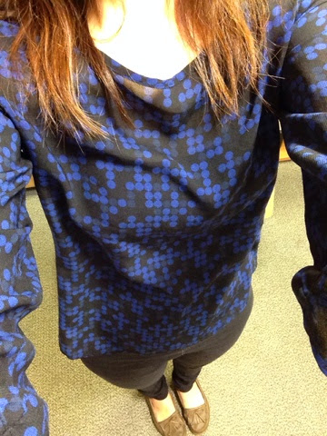 9a6aae1fe942 Away From Heels  blouse