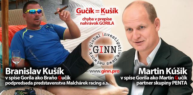Brano Kušík a Martin Kúšik mali meno Gučík, chyba v prepise Gorily