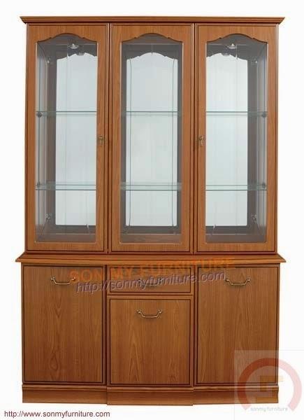 Tủ trưng bày gỗ 06