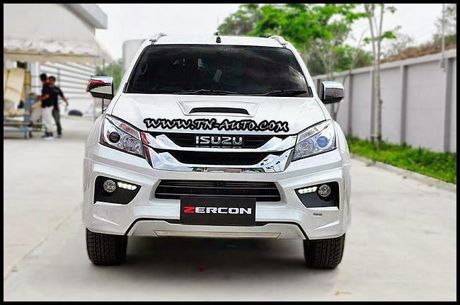 �ش���ͺ�ѹ  ISUZU MU-X  �ç ZERCON  Z-I DRESS UP