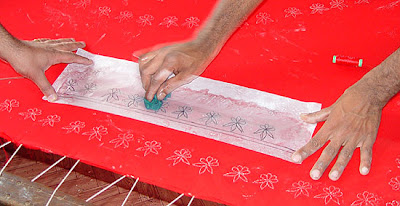 Pashmina embroidery