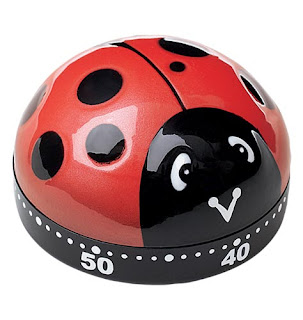 Ladybug Timer! What a cute Kitchen Timer!
