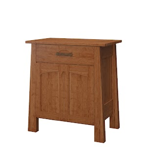 Luxor Nightstand with Doors