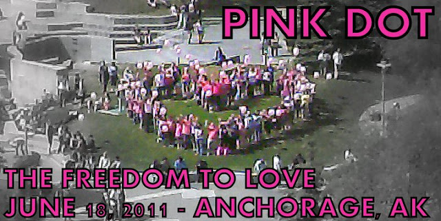 Pink Dot Anchorage Alaska 2011