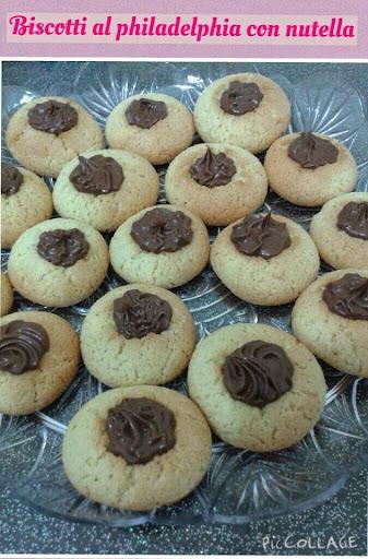 biscotti nutellotti philadelphia con nutella ricetta blog cucina giallo zafferano a pummarola ncoppa
