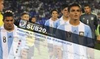 Argentina Colombia vivo online Sub20 Horarios 17Enero