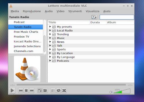 TuneIn Radio VLC