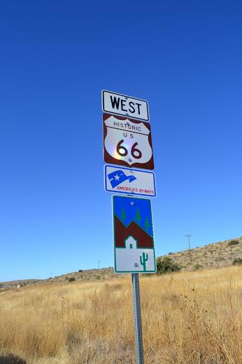 Дорога 66, Селигман, Аризона (Route 66, Seligman,  AZ)