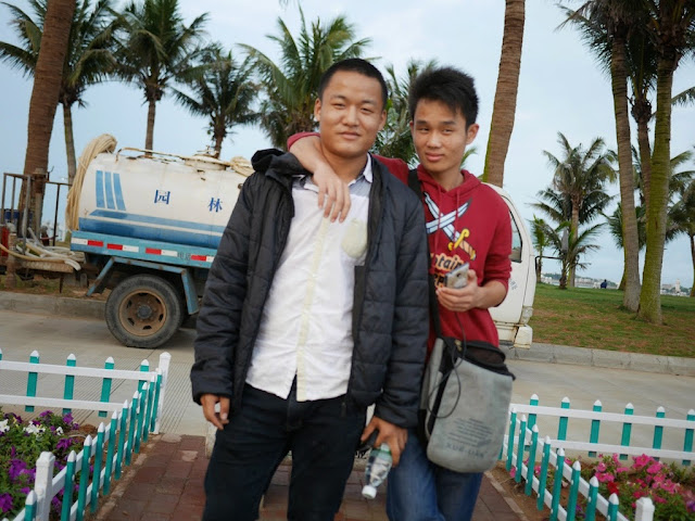 two men in Zhanjiang