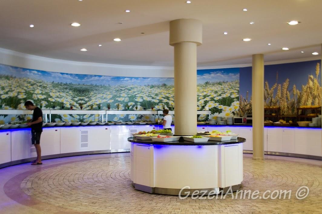 Bodrum Park Resort'te yemekler