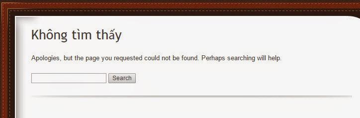yêu cầu Google xóa những link không tồn tại khỏi bộ nhớ cache