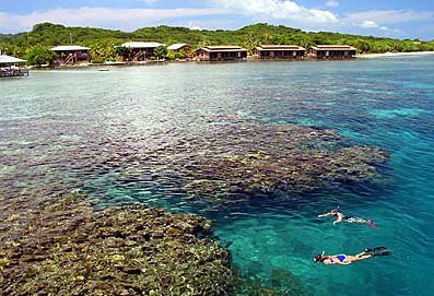 utila tropical island diving paradise
