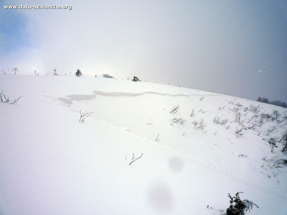 Avalanche Vosges, secteur Hohneck, Combe de Schallern - Photo 1