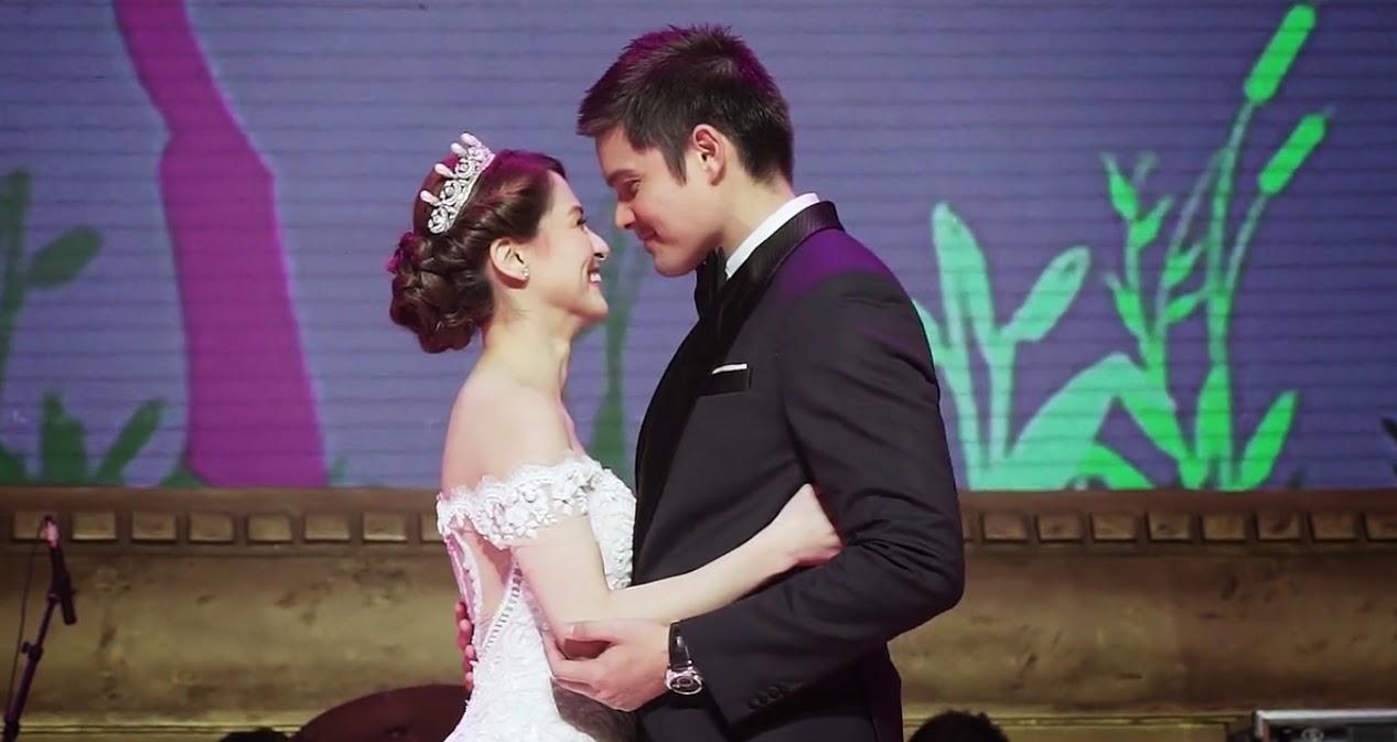 video dingdong dantes and marian rivera wedding hd