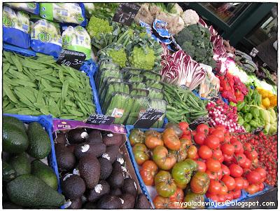 mercado de Naschmarkt