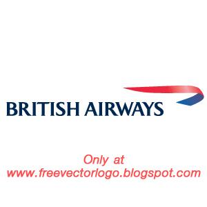 British airways logo vector