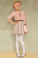 DIY Floral Skirt