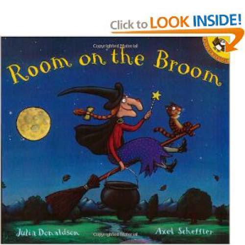 Room On The Broom Halloween Books